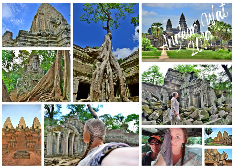 Angkor Wat Photo Collage