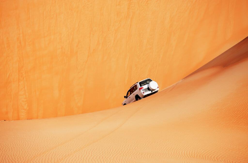 Dune bashing desert safari in Dubai RF