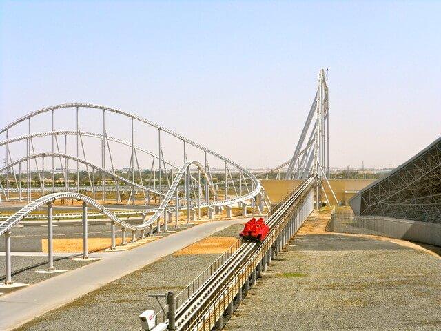 Formula Rossa Worlds fastest rollercoaster