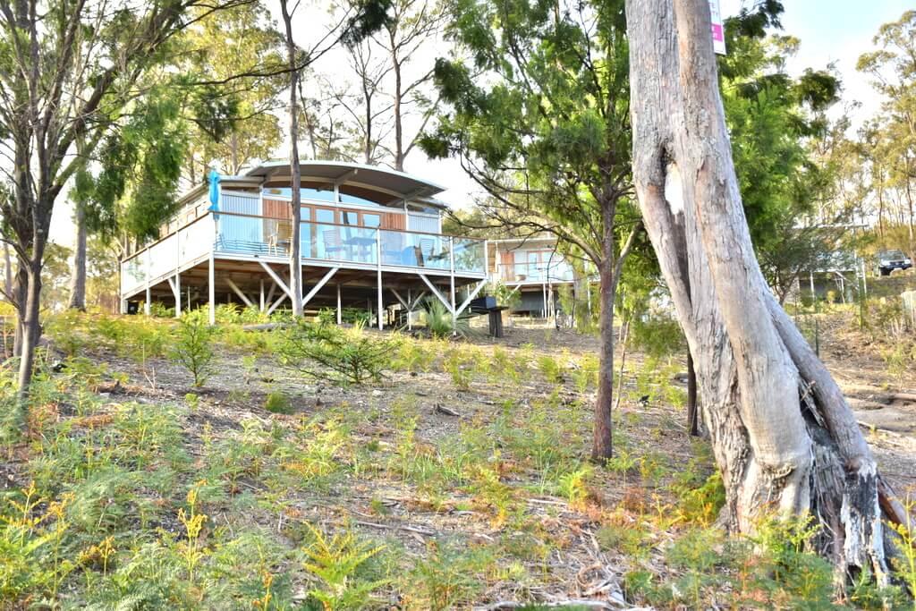 Eco accommoation Bruny Island Tasmania Free Spirit Pods
