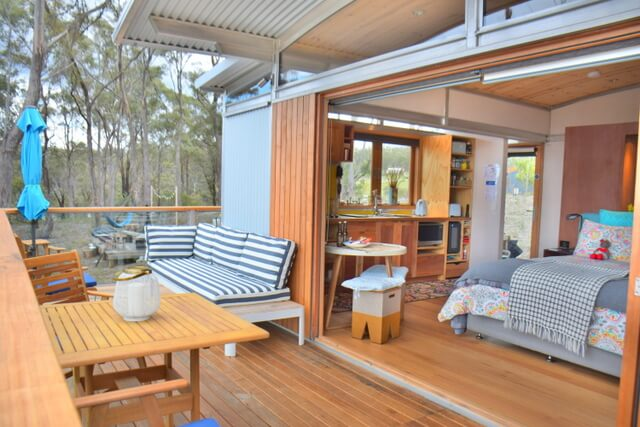 Free Spirit Eco Pods Where to Stay on North Bruny Island Tasmania