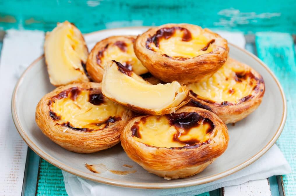 Portugese egg tart