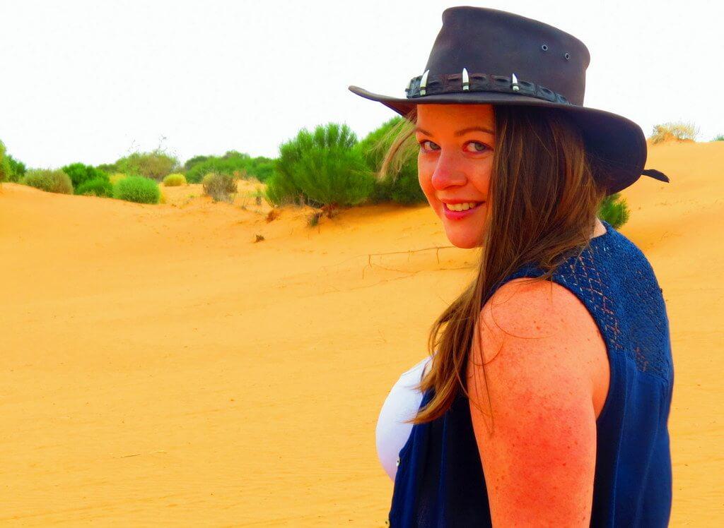 Australian Outback Meg Jerrard