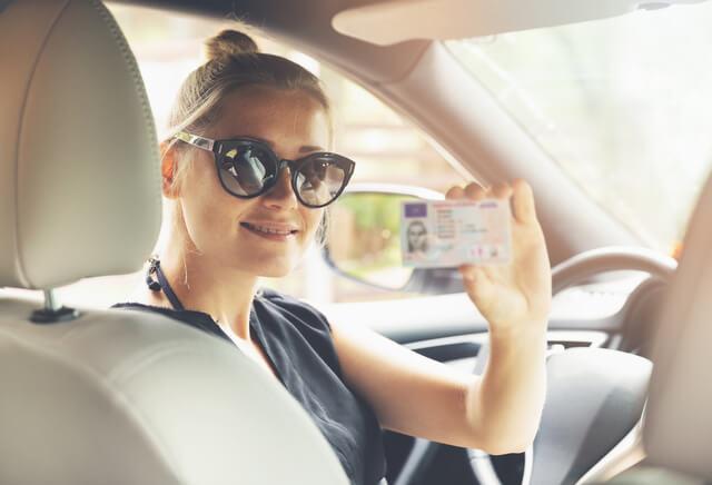 Drivers License car RF