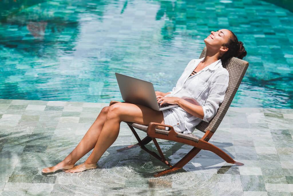 Pool computer laptop VPN RF