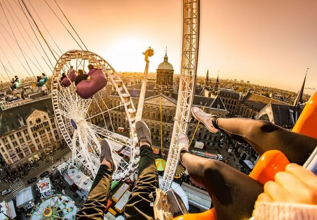 Ferris Wheel Amsterdam RF