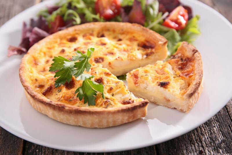 Quiche Lorraine French Food RF