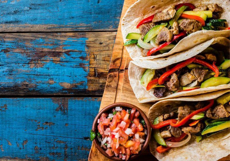 Taco food RF