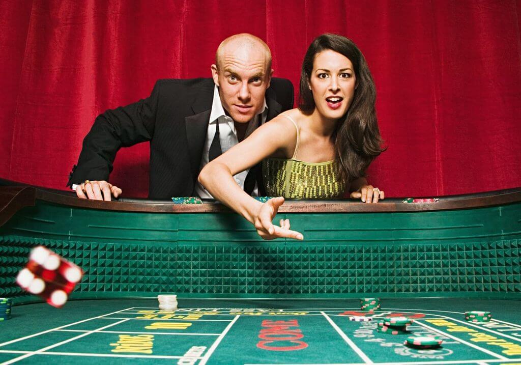 Craps casino Vegas game RF