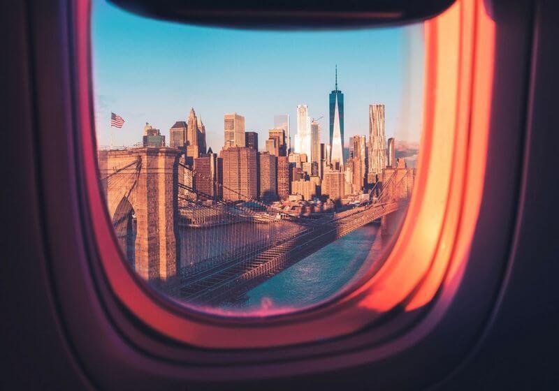 New York Plane Flight RF
