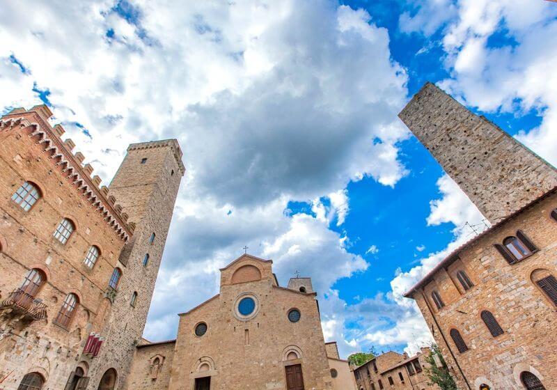 San Gimignano Italy RF