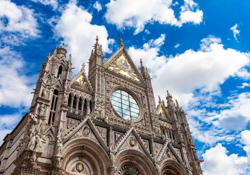 Siena Cathedral Church Italy RF