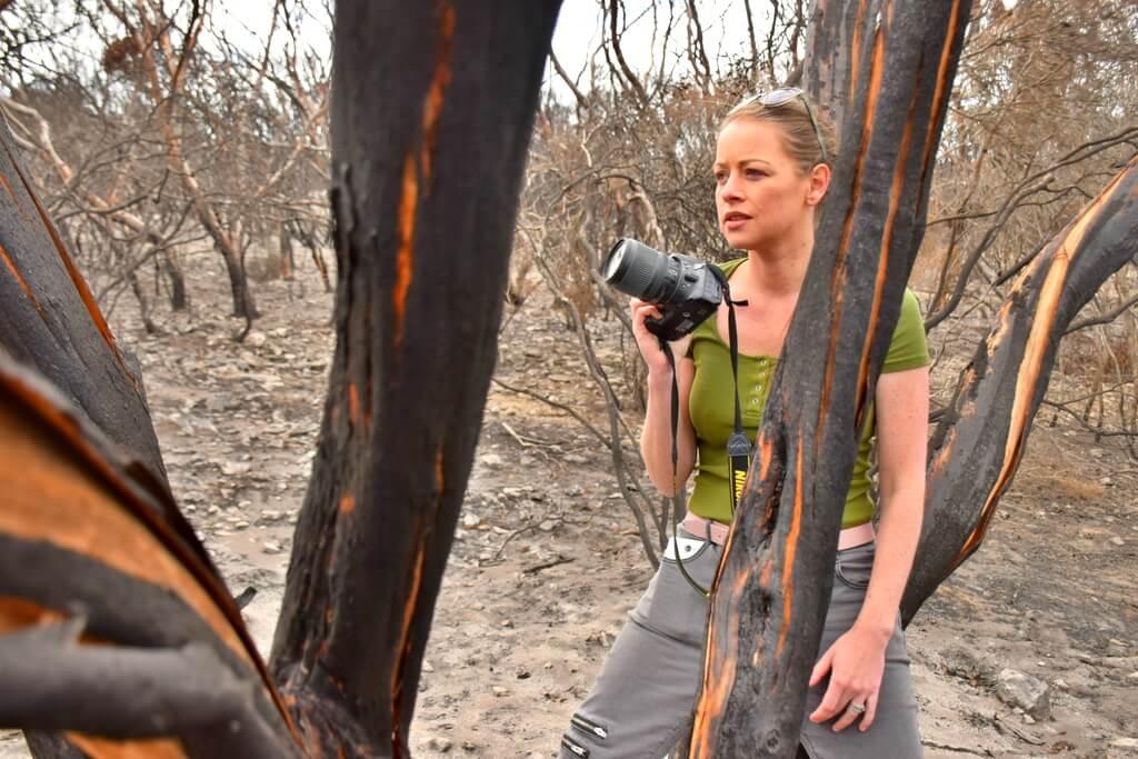 Megan Jerrard Kangaroo Island 2020 Bushfires
