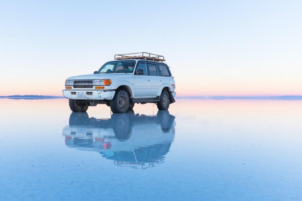 Salar de Uyuni Bolivia Car 4W Drive RF