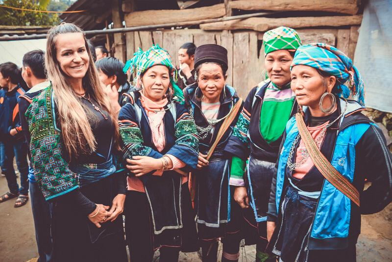 Black H'Mong People Sapa Vietnam