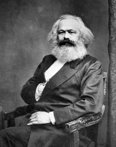 Karl Marx exile in London