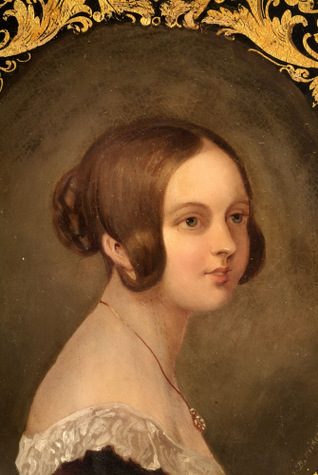 Queen Victoria portrait 1840
