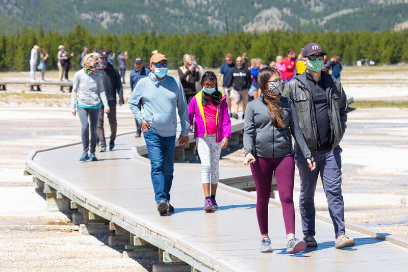 Yellowstone National Park during COVID 19 Coronavirus