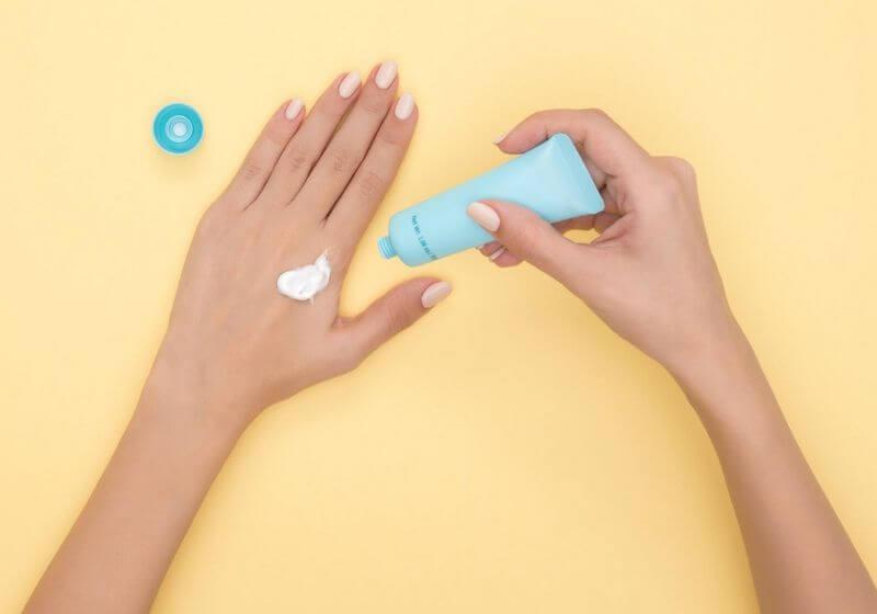 Cream hand RF