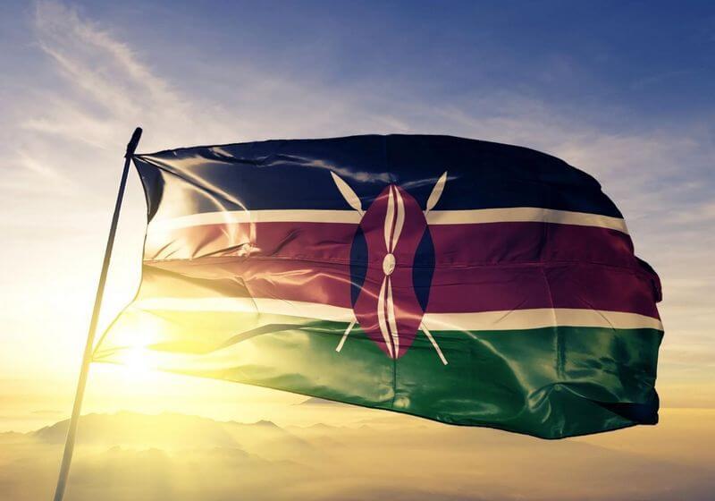 Kenya Flag RF