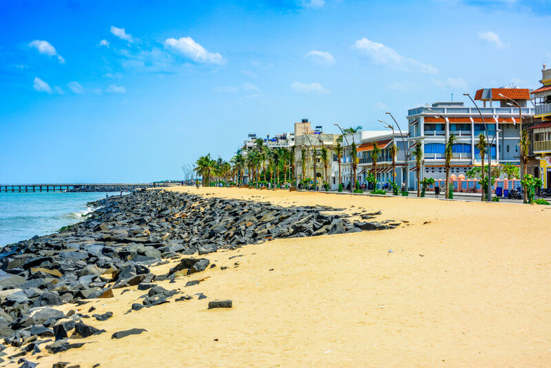 Promenade Beach Pondicherry