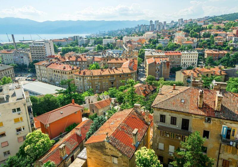 Rijeka Croatia RF