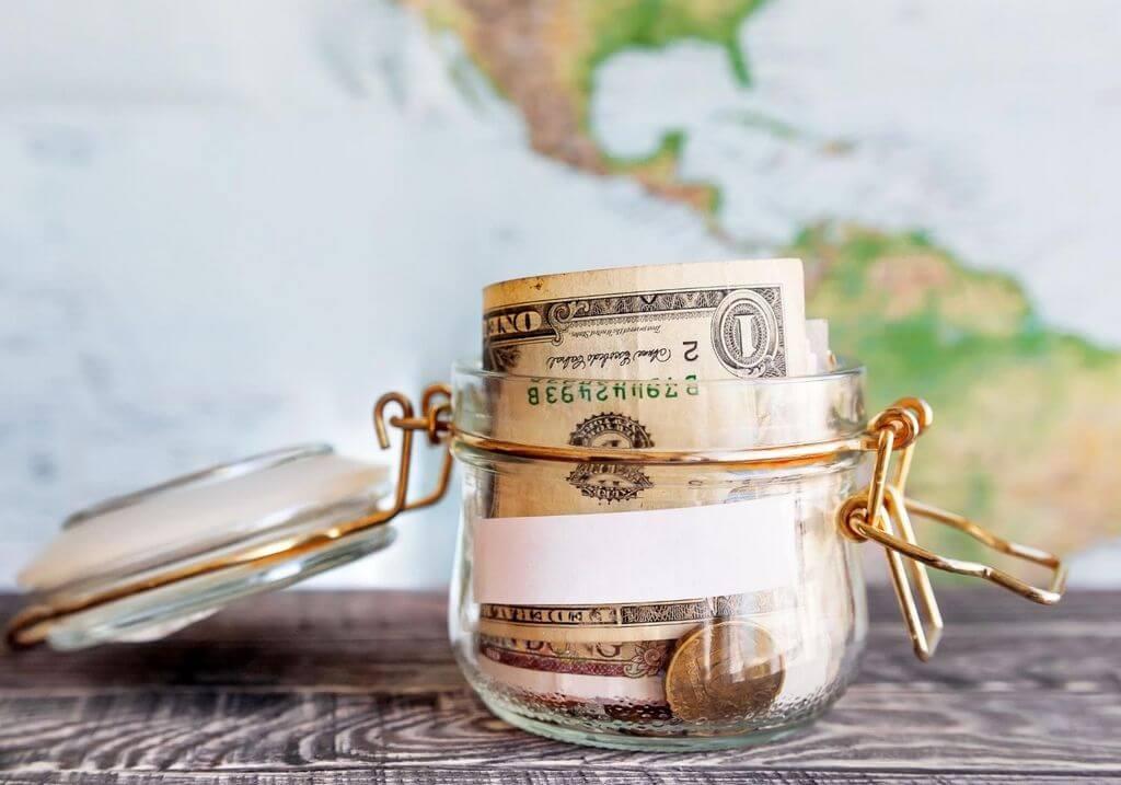 USD cash money RF
