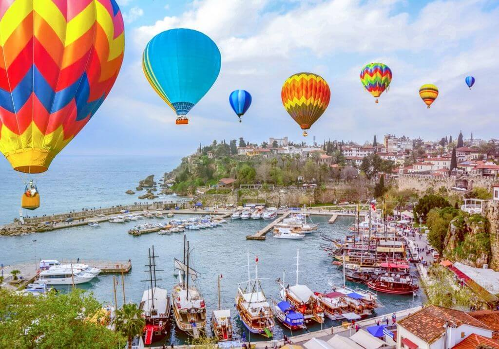 Antalya Turkey Hot air balloon RF