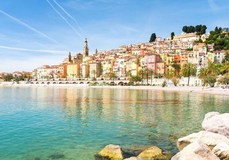 French Riviera Menton RF