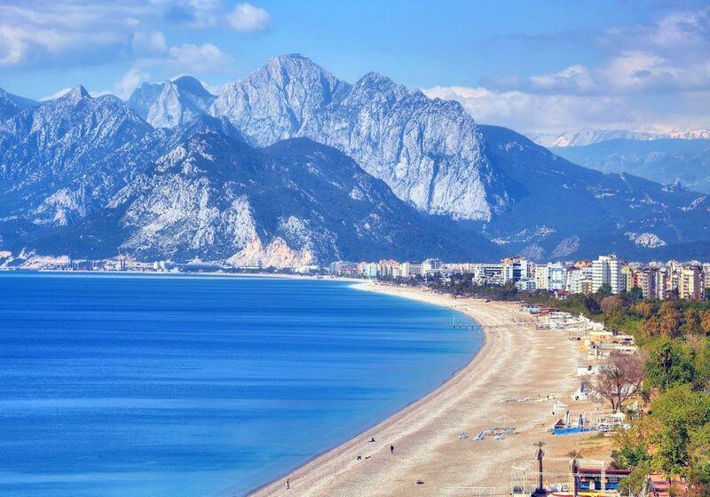 Konyaalti Beach Antalya Turkey RF