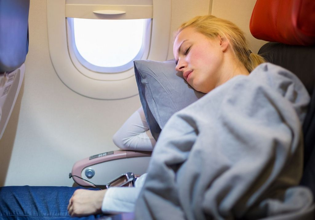 Airport sleep plane RF