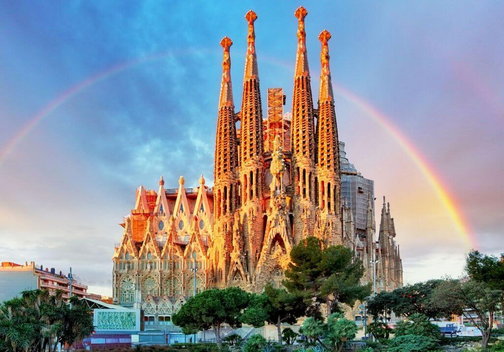 Sagrada Familia Barcelona Spain RF