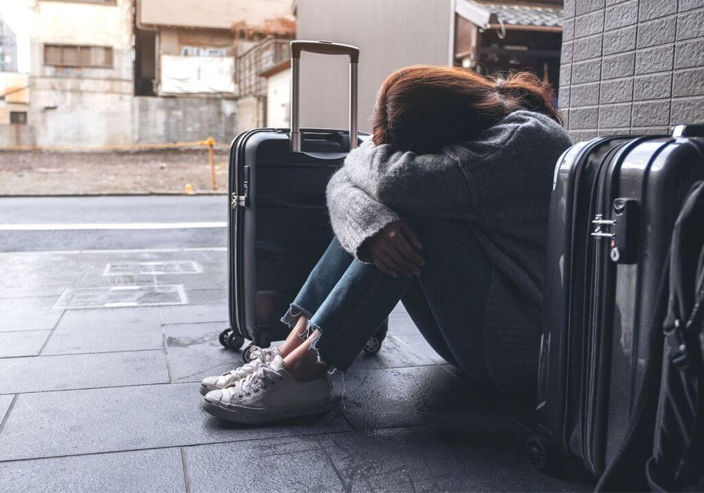 Travel sad anxiety mental health RF