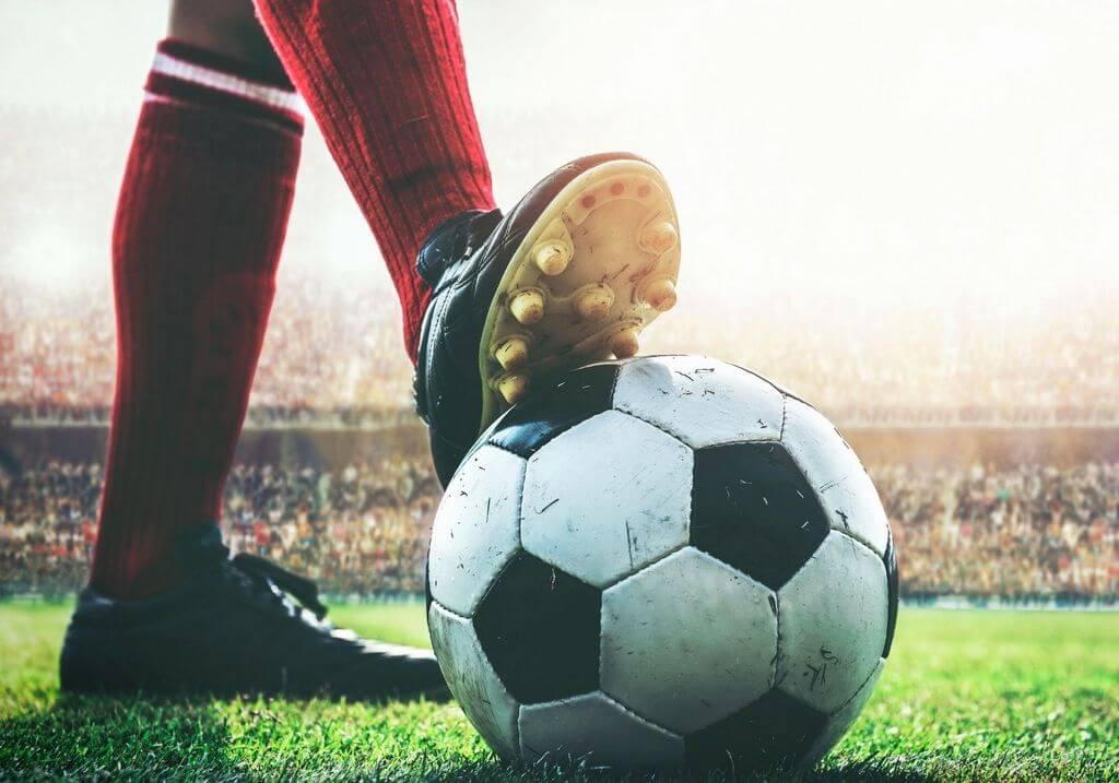 Soccer football RF
