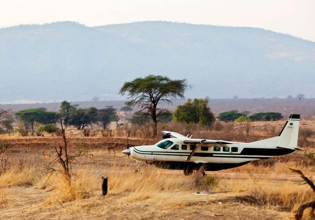 Tanzania Flight Plane RF