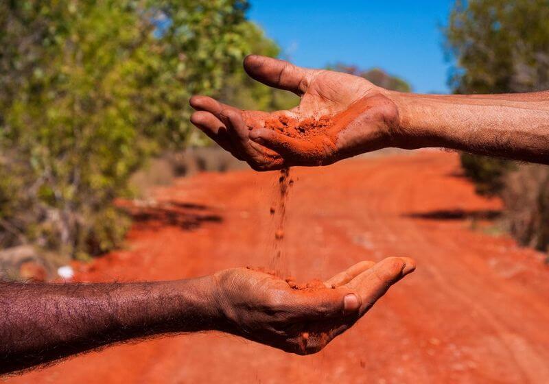Aboriginal Australia land RFAboriginal Australia land RF