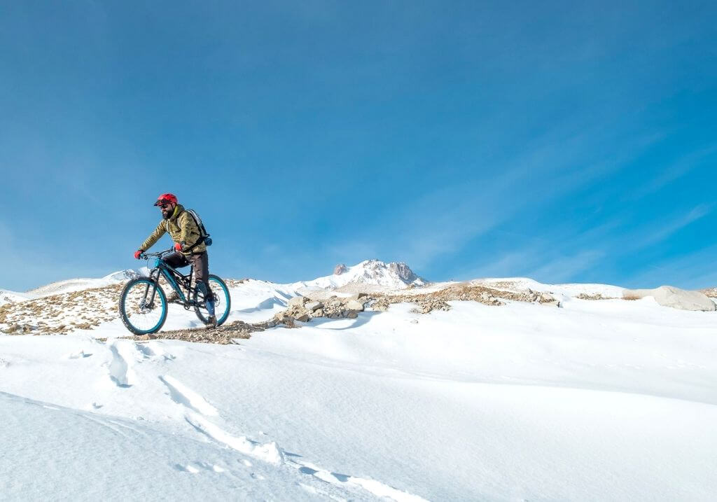Snow bike RF
