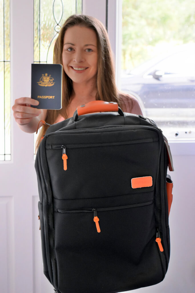 Standard Luggage Best Carryon only travel backpack review