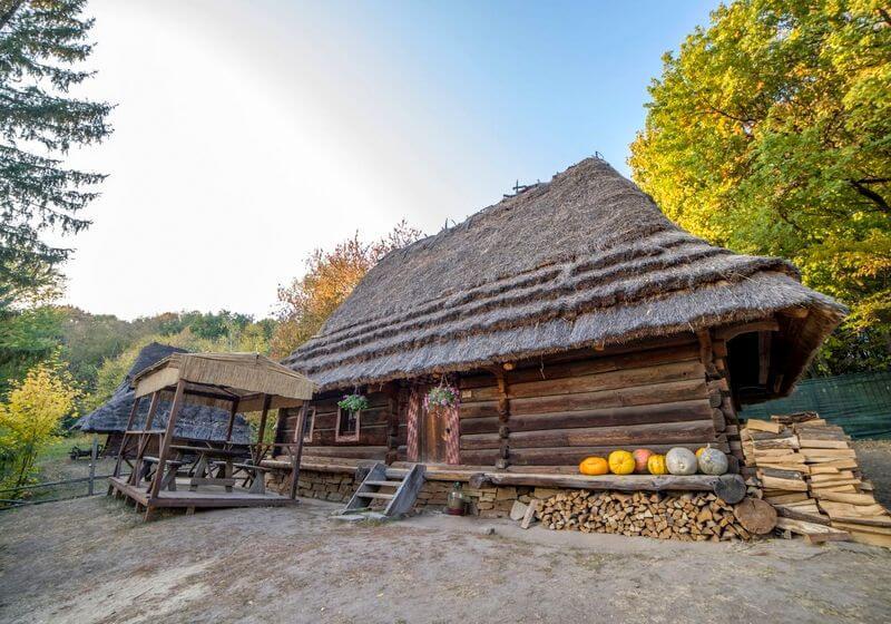 Ukrainian village RF