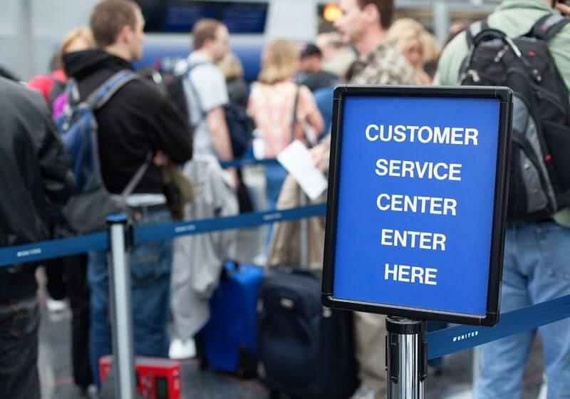 customs airport RF