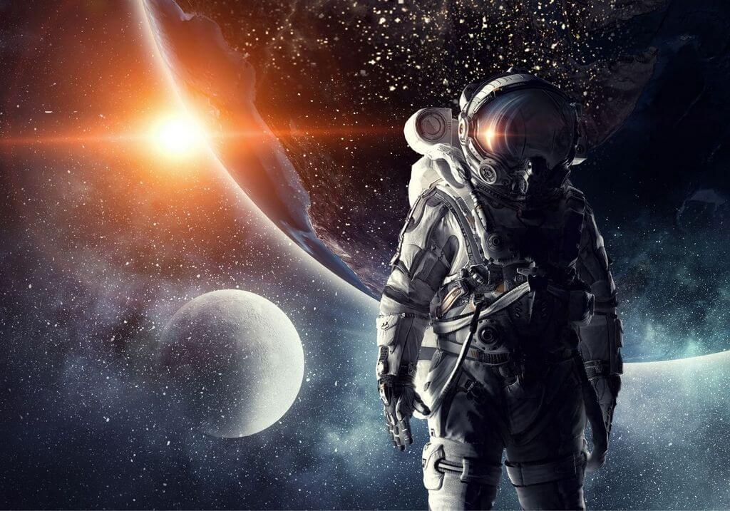 Space astronaut RF