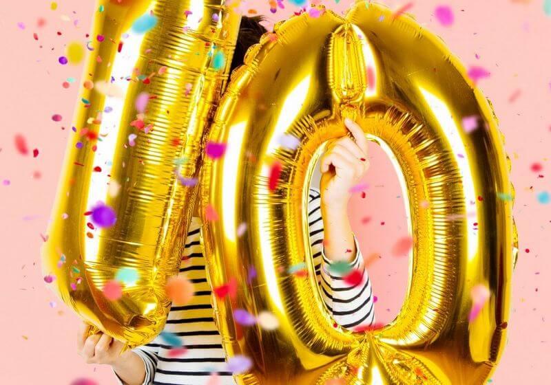 10 ten balloon RF