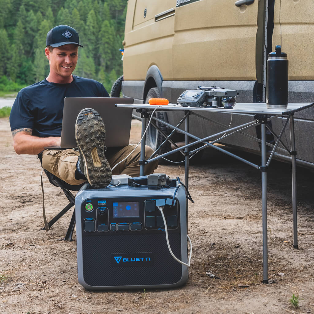 Bluetti AC200P Portable Power Station Review