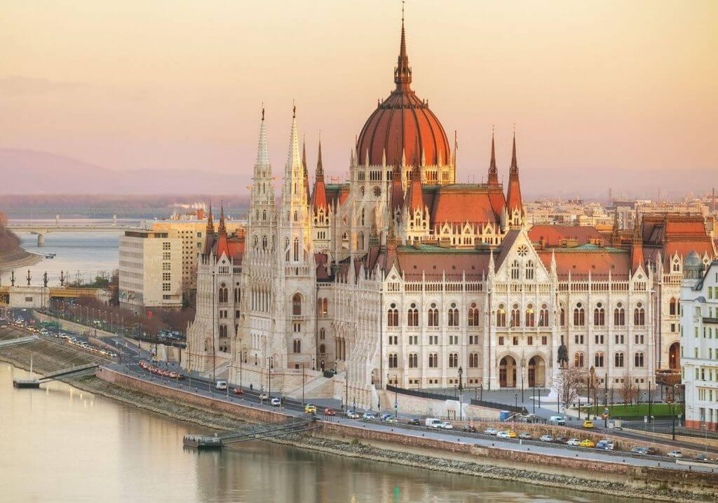 Budapest Parliament Building Hungary RF