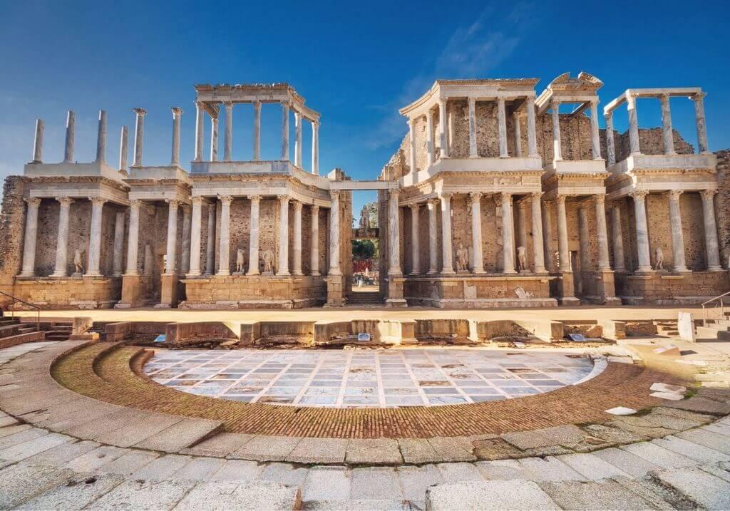 Merida ruins Spain RF