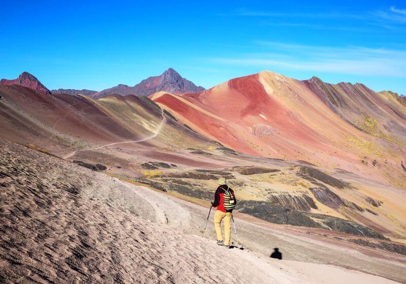 Rainbow Mountain Hike Peru RF