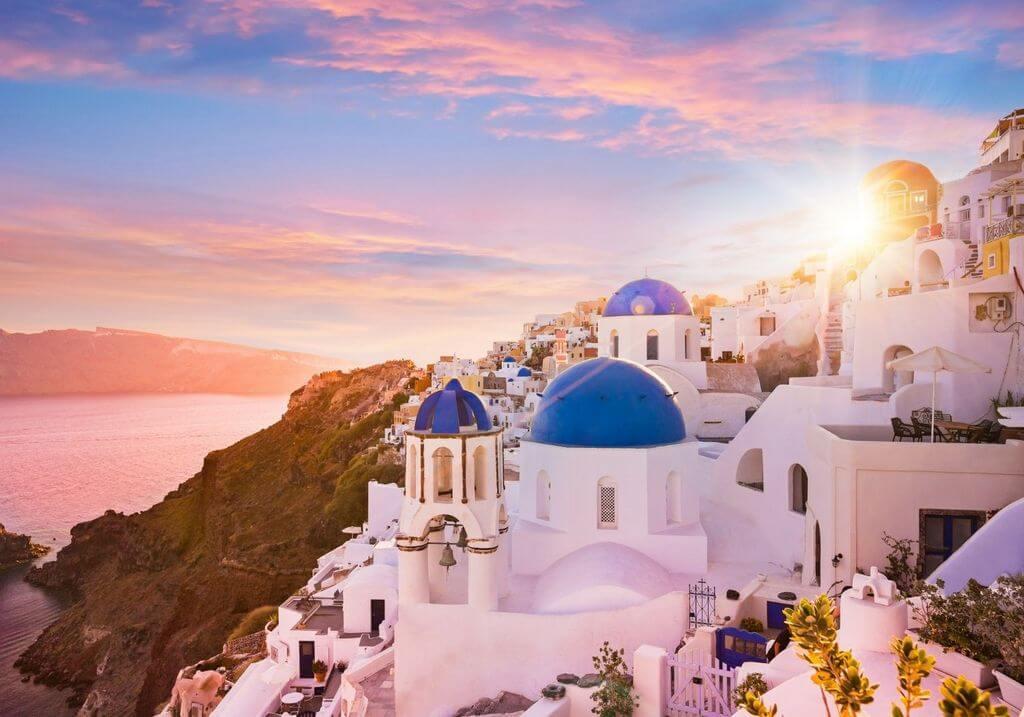 Santorini Greece Sunset RF