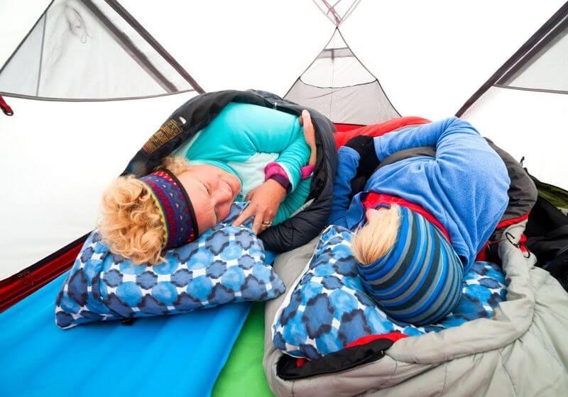 camping tent sleep RF
