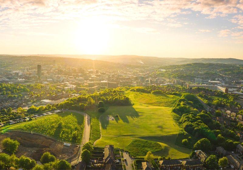 Sheffield UK Parks RF