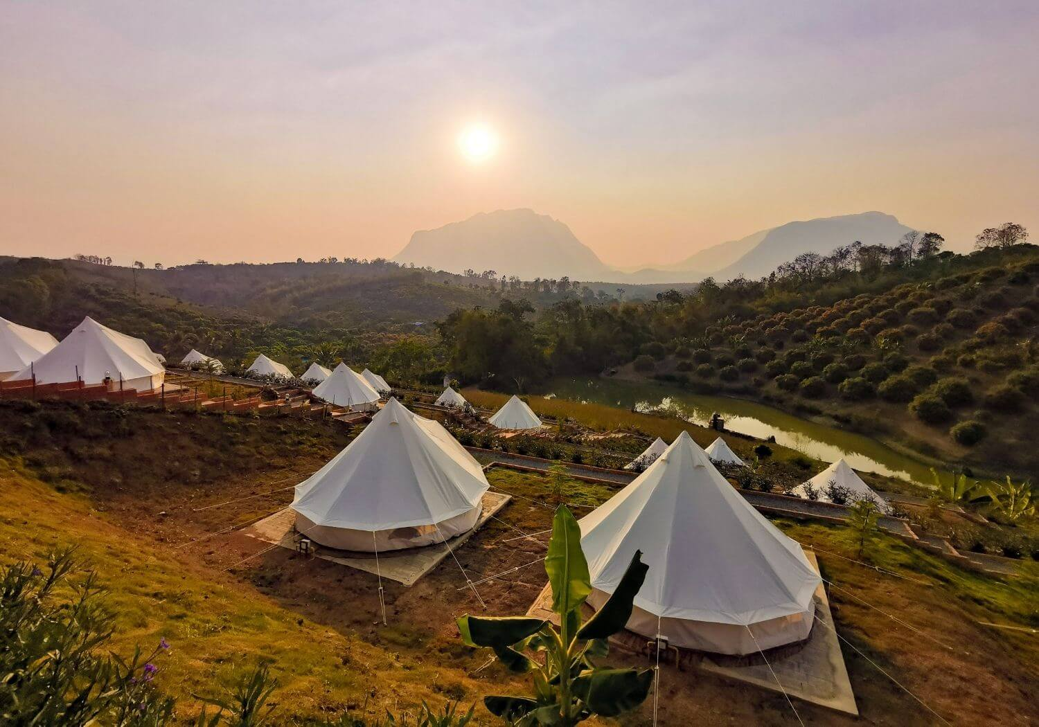 Camping tent Thailand RF